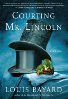 Cover illustration for Courting Mr. Lincoln
