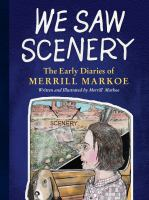 Cover illustration for We Saw Scenery