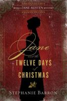 Cover illustration for Jane and the Twelve Days of Christmas