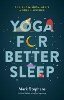 Cover illustration for Yoga for Better Sleep