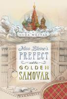 Cover illustration for Miss Blaine's Prefect and  the Golden Samovar