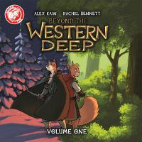 Cover illustration for Beyond the Western Deep