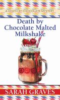 Cover illustration for Death by Chocolate Malted Milkshake