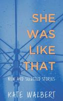 Cover illustration for She Was Like That