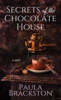 Cover illustration for Secrets of the Chocolate House