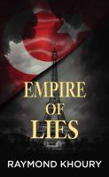 Cover illustration for Empire of Lies