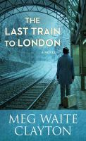 Cover illustration for The Last Train to London