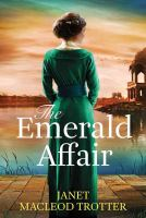 Cover illustration for The Emerald Affair