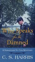 Cover illustration for Who Speaks for the Damned