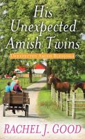Cover illustration for His Unexpected Amish Twins