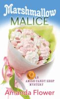 Cover illustration for Marshmallow Malice