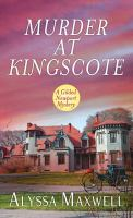 Cover illustration for Murder at Kingscote