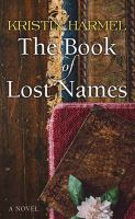 Cover illustration for The Book of Lost Names