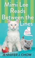 Cover illustration for Mimi Lee Reads Between the Lines