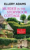 Cover illustration for Murder at the Storybook Cottage