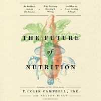 Cover illustration for The Future of Nutrition