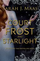 Cover illustration for Court of Frost and Starlight