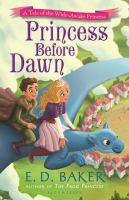 Cover illustration for Princess Before Dawn