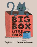 Cover illustration for Big Box, Little Box