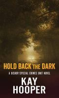 Cover illustration for Hold Back the Dark