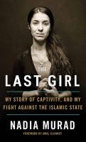 Cover illustration for The Last Girl