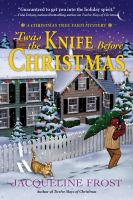 Cover illustration for Twas the Knife Before Christmas