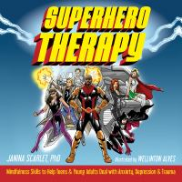 Cover illustration for Superhero Therapy