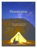 Cover illustration for Homecamp : stories and inspiration for the modern adventurer