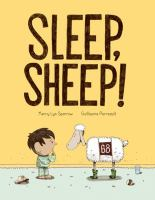 Cover illustration for Sleep Sheep!