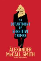 Cover illustration for The Department of Sensitive Crimes