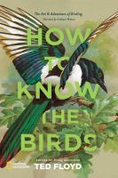 Cover illustration for How to Know the Birds