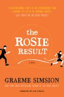 Cover illustration for The Rosie Result