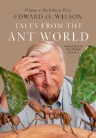 Cover illustration for Tales from the Ant World