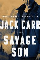 Cover illustration for Savage Son
