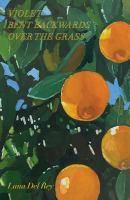 Cover illustration for Violet Bent Backwards Over the Grass