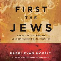 Cover illustration for First the Jews