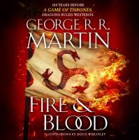 Cover illustration for Fire & Blood