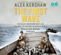 Cover illustration for The First Wave