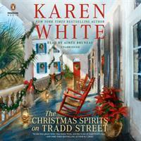 Cover illustration for Christmas Spirits on Tradd Street