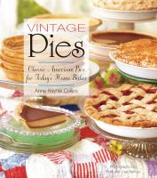Cover image for Vintage pies :