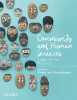 Community organizing : theory and practice