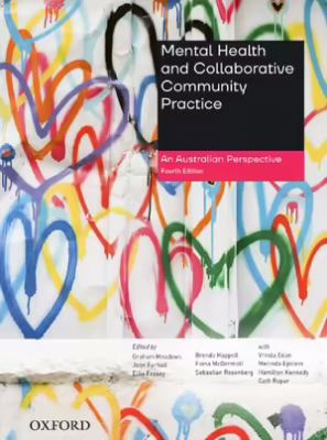 Book cover: Mental health and collaborative community practice : an Australian perspective