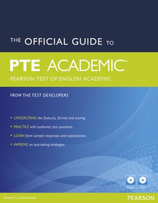 The official guide to PTE Academic: Pearson Test fo English Academic - book cover