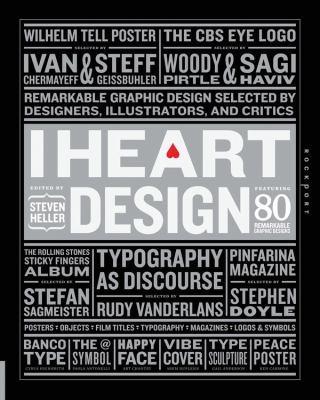 I heart design : remarkable graphic design selected by designers, illustrators, and critics