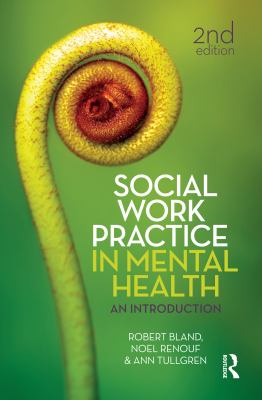 Book cover- Social work practice in mental health : an introduction