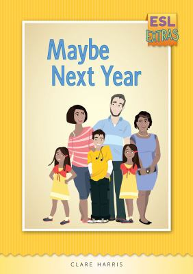 Book cover for Maybe Next Year