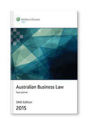 Australian Business Law 2015
