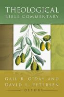 Cover image for Theological Bible commentary