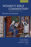 Cover image for Women's Bible commentary