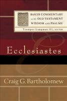 Cover image for Ecclesiastes
